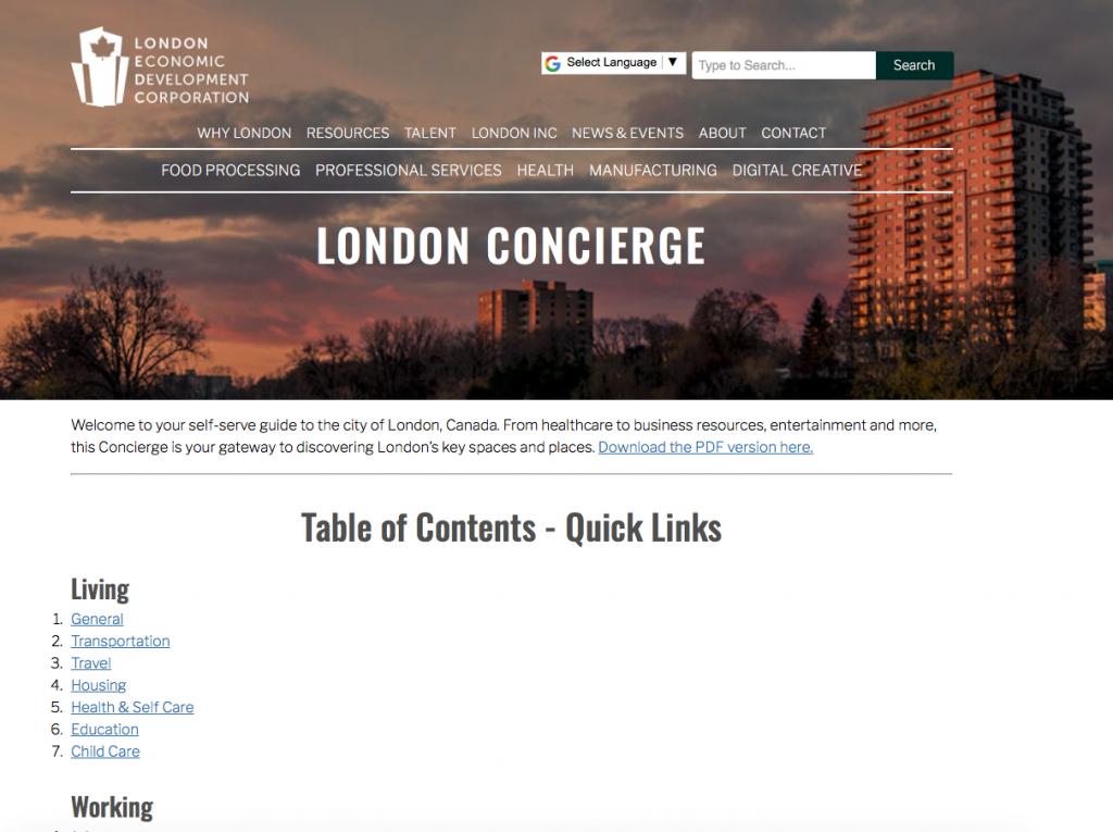 LEDC Concierge