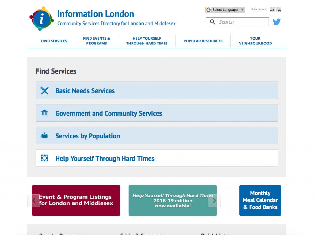 Information London